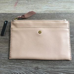NWT J Crew Leather Wallet